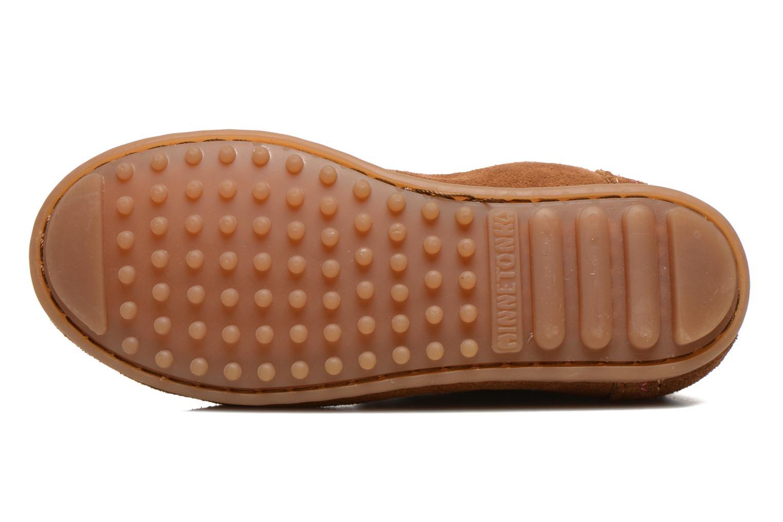 Stivaletti e tronchetti Minnetonka Aspen Boot Marrone immagine dall'alto