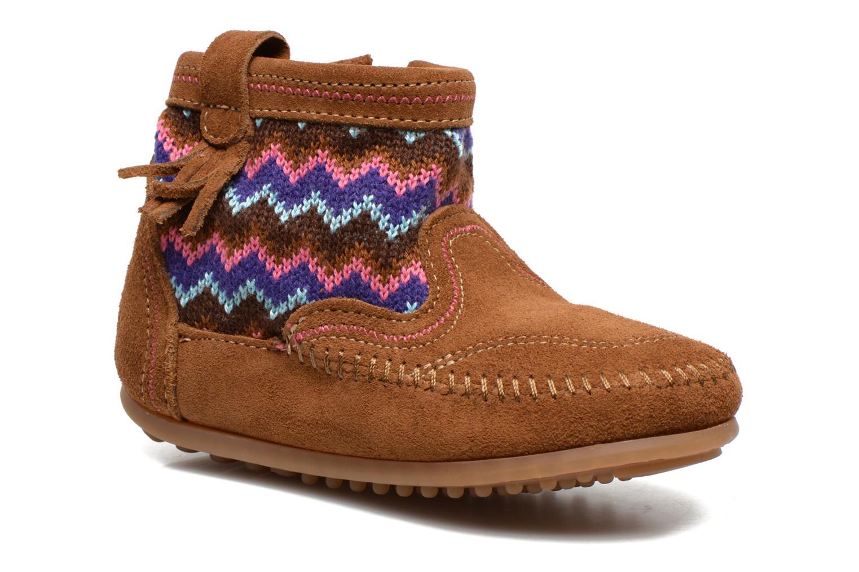 Bottines et boots Minnetonka Aspen Boot Marron vue détail/paire