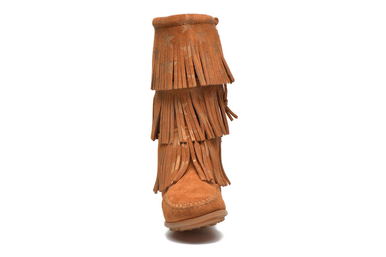 Laarzen Minnetonka Star 3 Layer Bruin model
