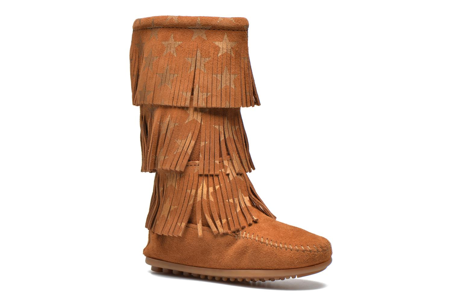 Boots & wellies Minnetonka Star 3 Layer Brown detailed view/ Pair view