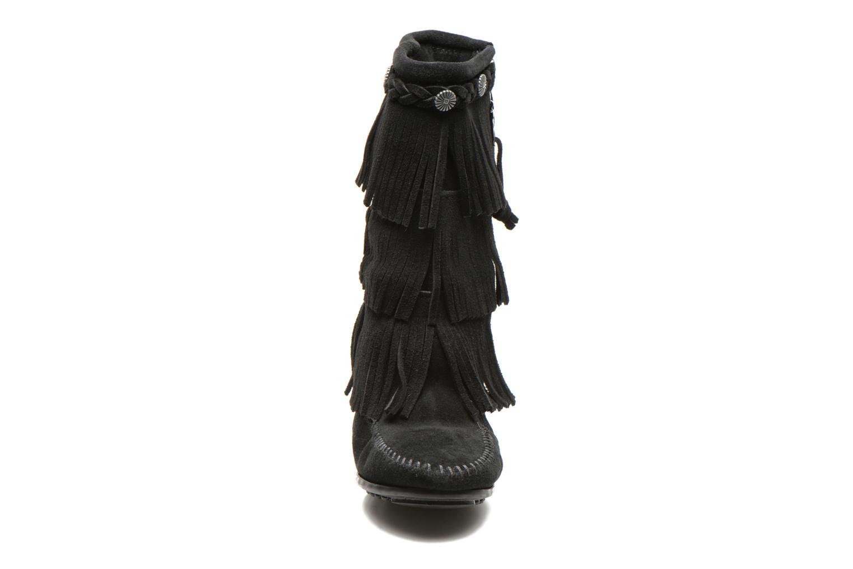 Boots & wellies Minnetonka 3-Layer Black model view