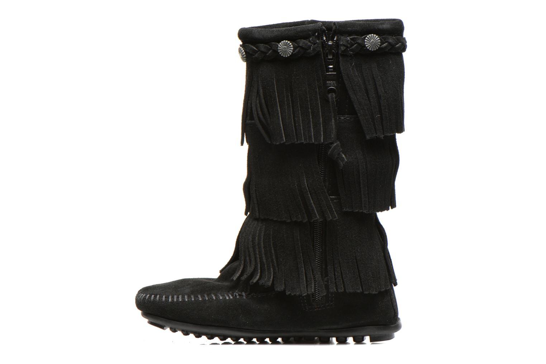 Laarzen Minnetonka 3-Layer Zwart voorkant