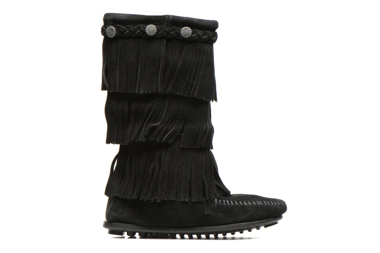 Boots & wellies Minnetonka 3-Layer Black back view
