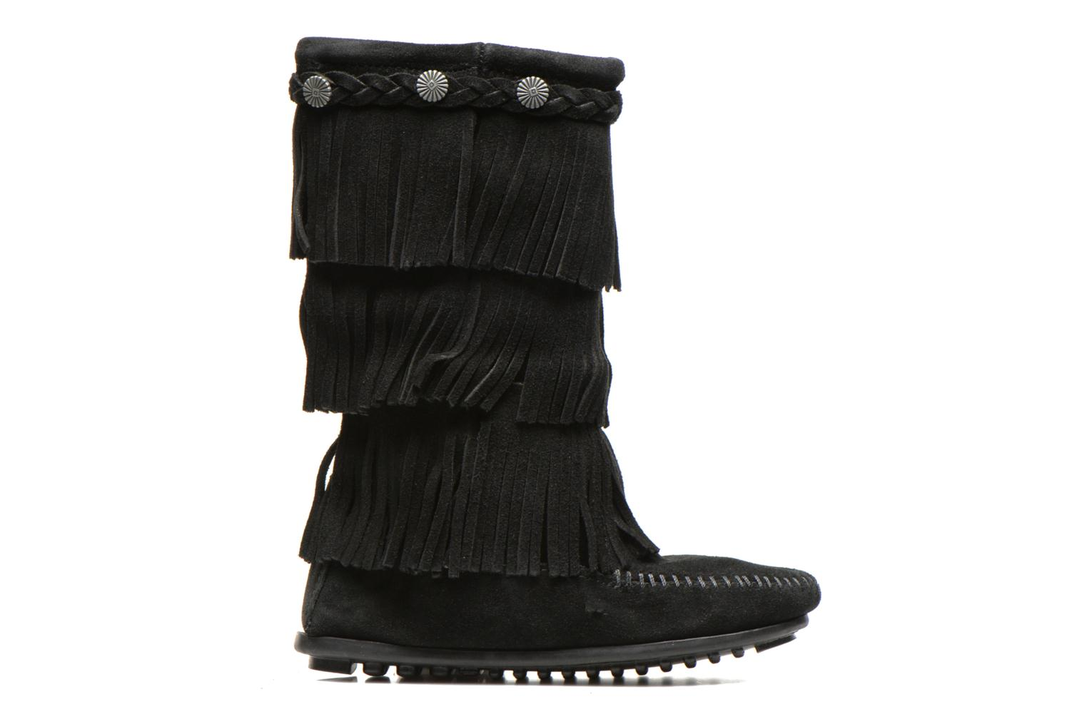 Boots & wellies Minnetonka 3-Layer Black back view