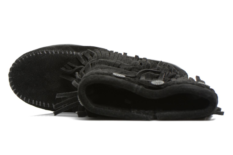 Bottes Minnetonka 3-Layer Noir vue gauche