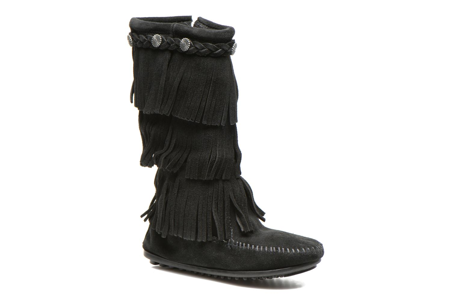 Boots & wellies Minnetonka 3-Layer Black detailed view/ Pair view