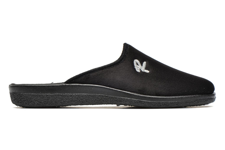 Pantoffels Rondinaud Gaubertin Zwart achterkant