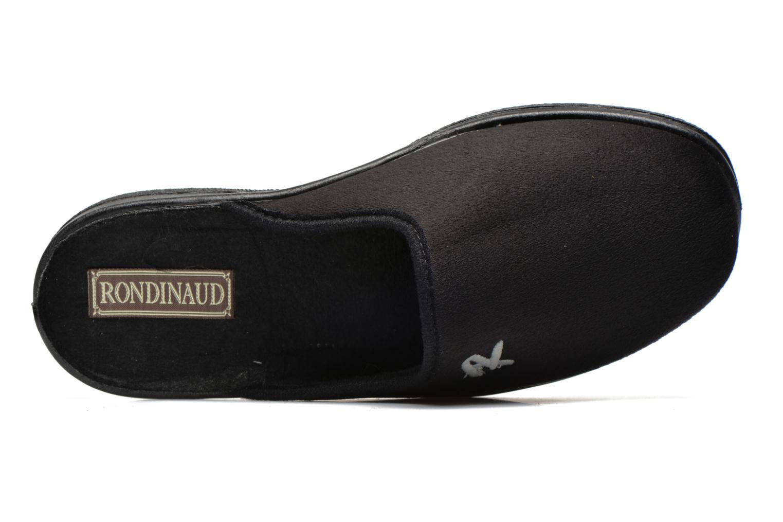 Pantoffels Rondinaud Gaubertin Zwart links