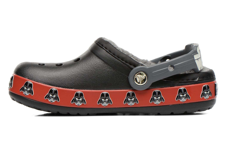 Sandalen Crocs CB Darth Vader Lined Clog schwarz ansicht von vorne