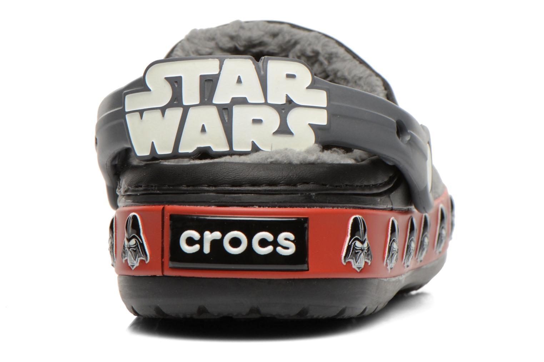 Sandalen Crocs CB Darth Vader Lined Clog schwarz ansicht von rechts