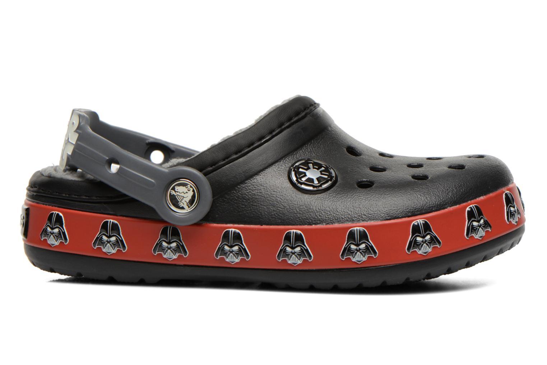 Sandalen Crocs CB Darth Vader Lined Clog schwarz ansicht von hinten