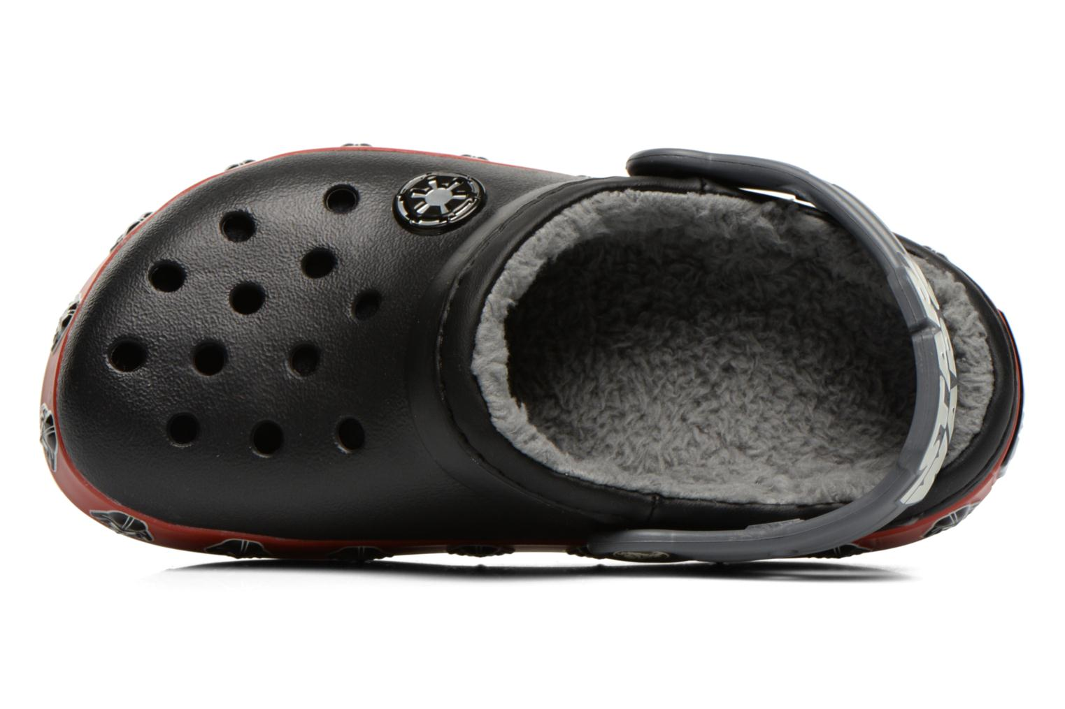 Sandals Crocs CB Darth Vader Lined Clog Black view from the left
