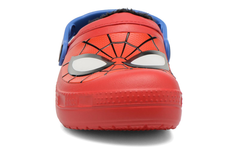 Sandalen Crocs CC Spiderman Lined Clog rot schuhe getragen