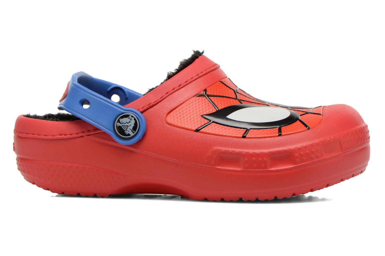 Sandaler Crocs CC Spiderman Lined Clog Rød se bagfra