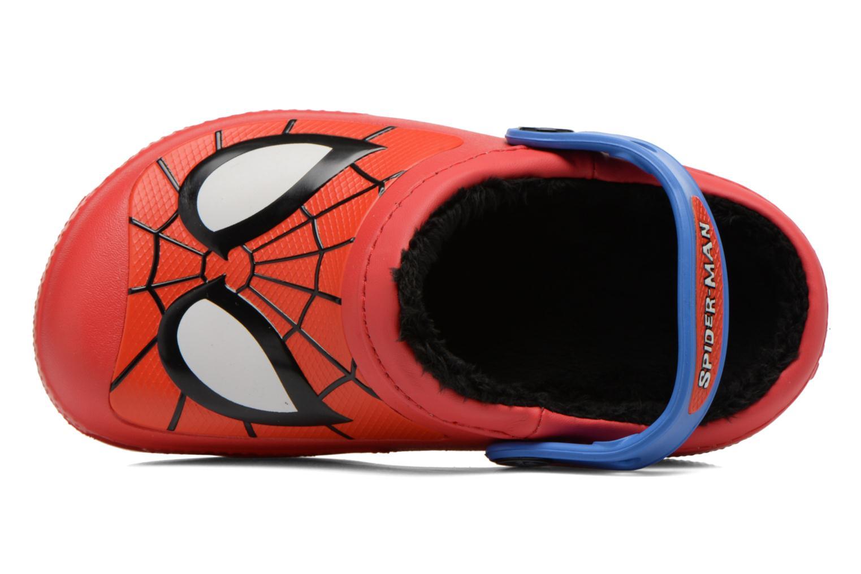 Sandalen Crocs CC Spiderman Lined Clog rot ansicht von links