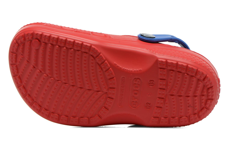 Sandaler Crocs CC Spiderman Lined Clog Rød se foroven