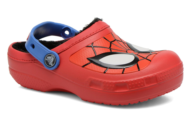 Sandalen Crocs CC Spiderman Lined Clog rot detaillierte ansicht/modell