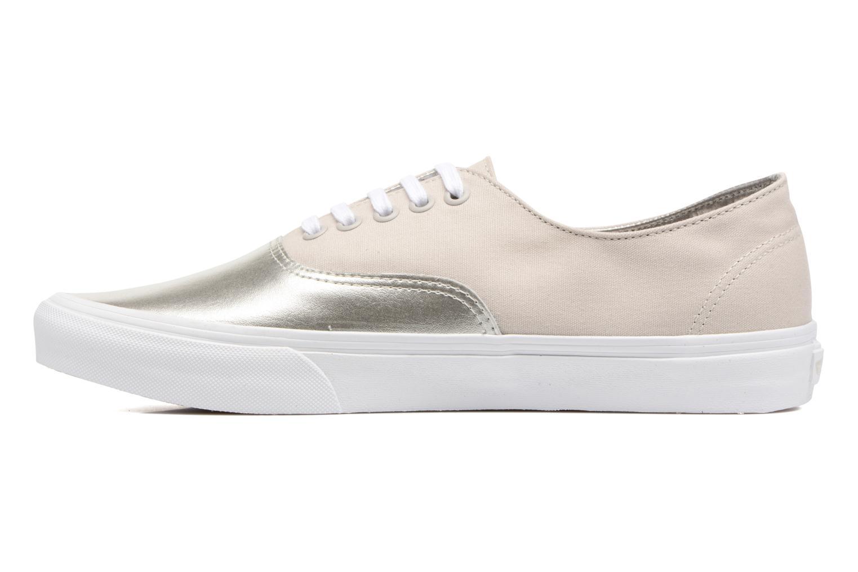 Sneaker Vans Authentic Decon beige ansicht von vorne