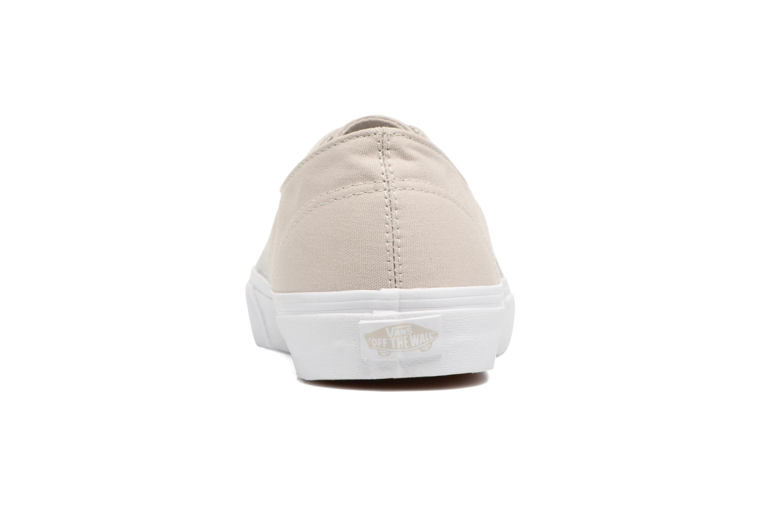 Baskets Vans Authentic Decon Beige vue droite