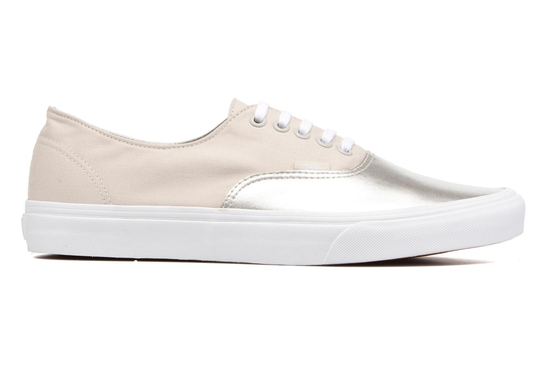 Sneaker Vans Authentic Decon beige ansicht von hinten