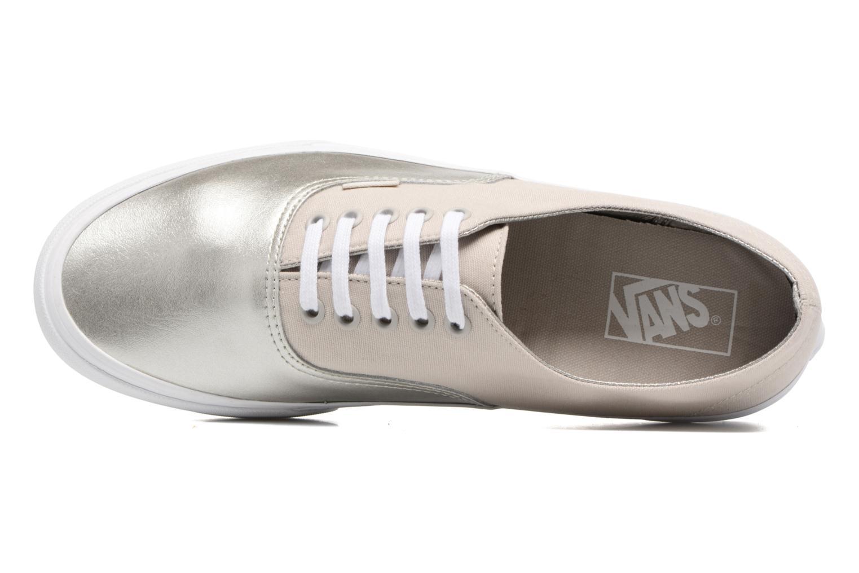 Sneaker Vans Authentic Decon beige ansicht von links
