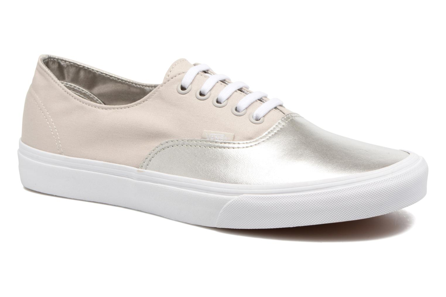 Baskets Vans Authentic Decon Beige vue détail/paire
