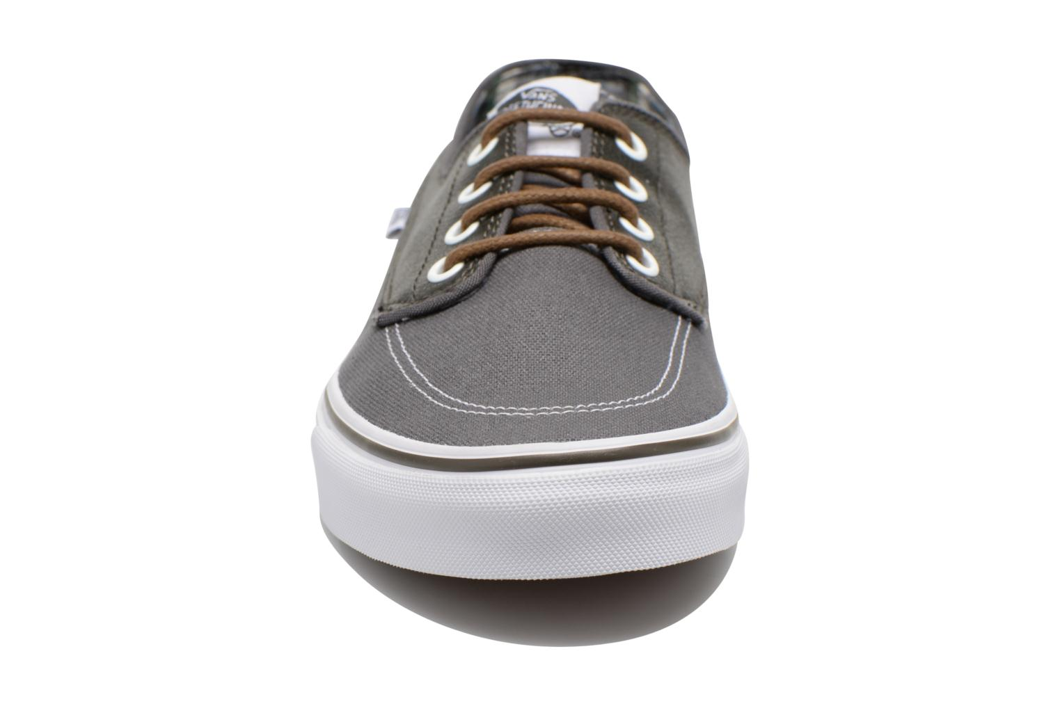 Trainers Vans Brigata Grey model view