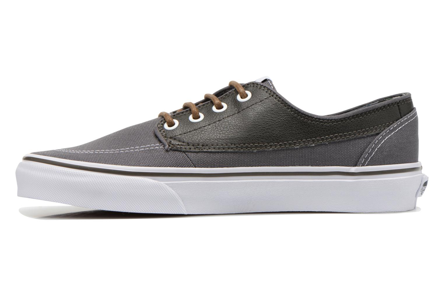 Trainers Vans Brigata Grey front view