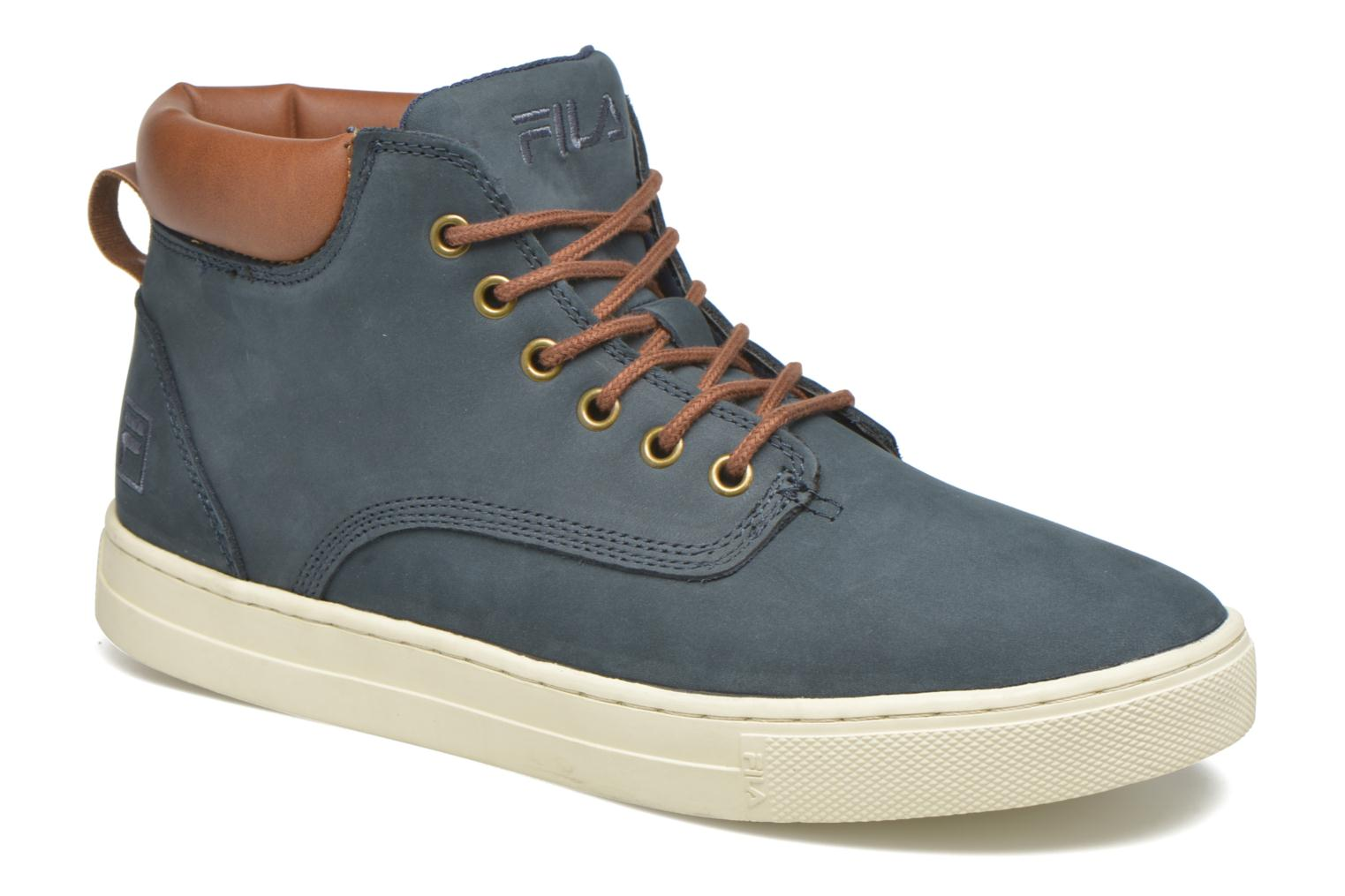 Trainers FILA Roswell N Mid Blue detailed view/ Pair view