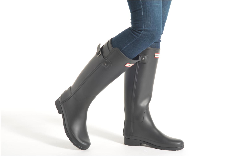 Stiefel Hunter Original Refined Back Strap schwarz ansicht von unten / tasche getragen