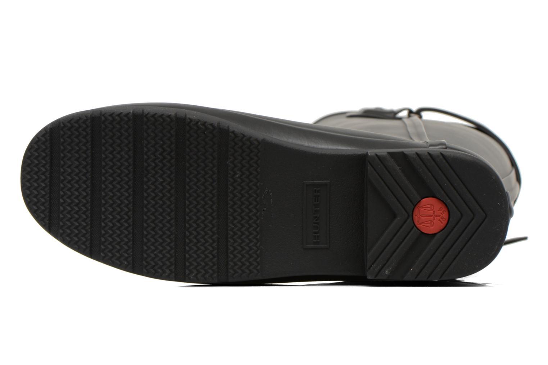 Stiefel Hunter Original Refined Back Strap schwarz ansicht von oben