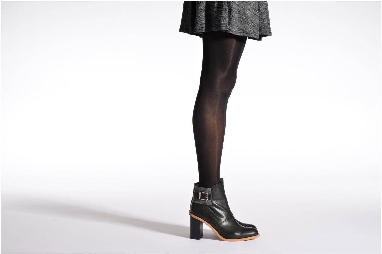 Socken & Strumpfhosen Sarenza Wear Strumpfhose soft touch schwarz schuhe getragen