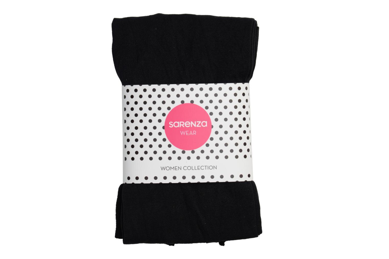Socken & Strumpfhosen Sarenza Wear Strumpfhose soft touch schwarz ansicht von hinten