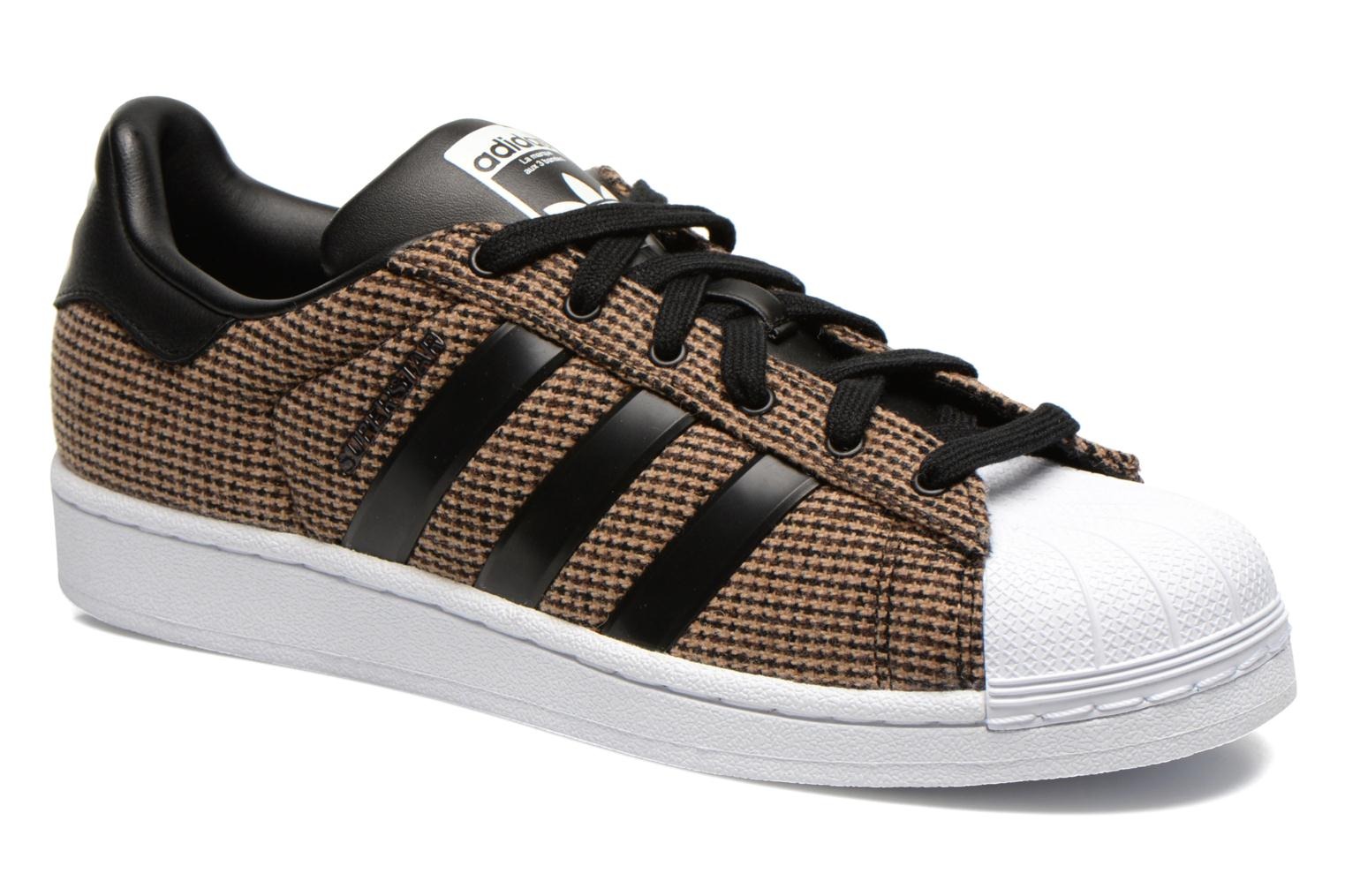 adidas superstar marron. sarenza superstar homme