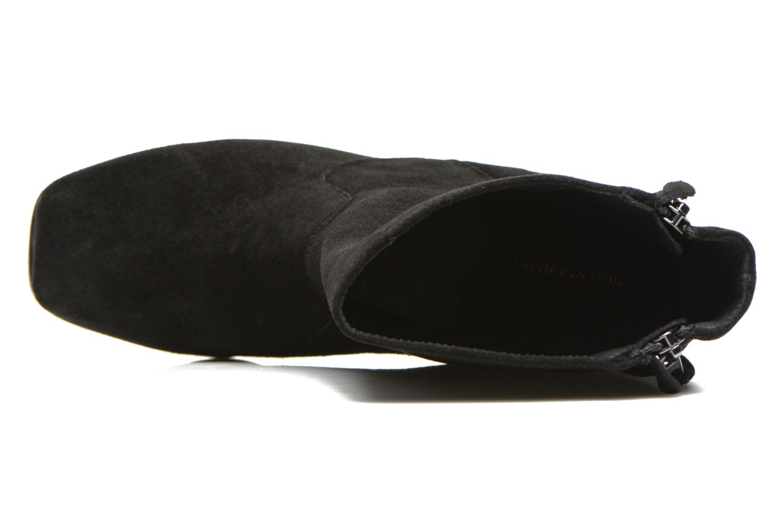 Poncho Black Suede