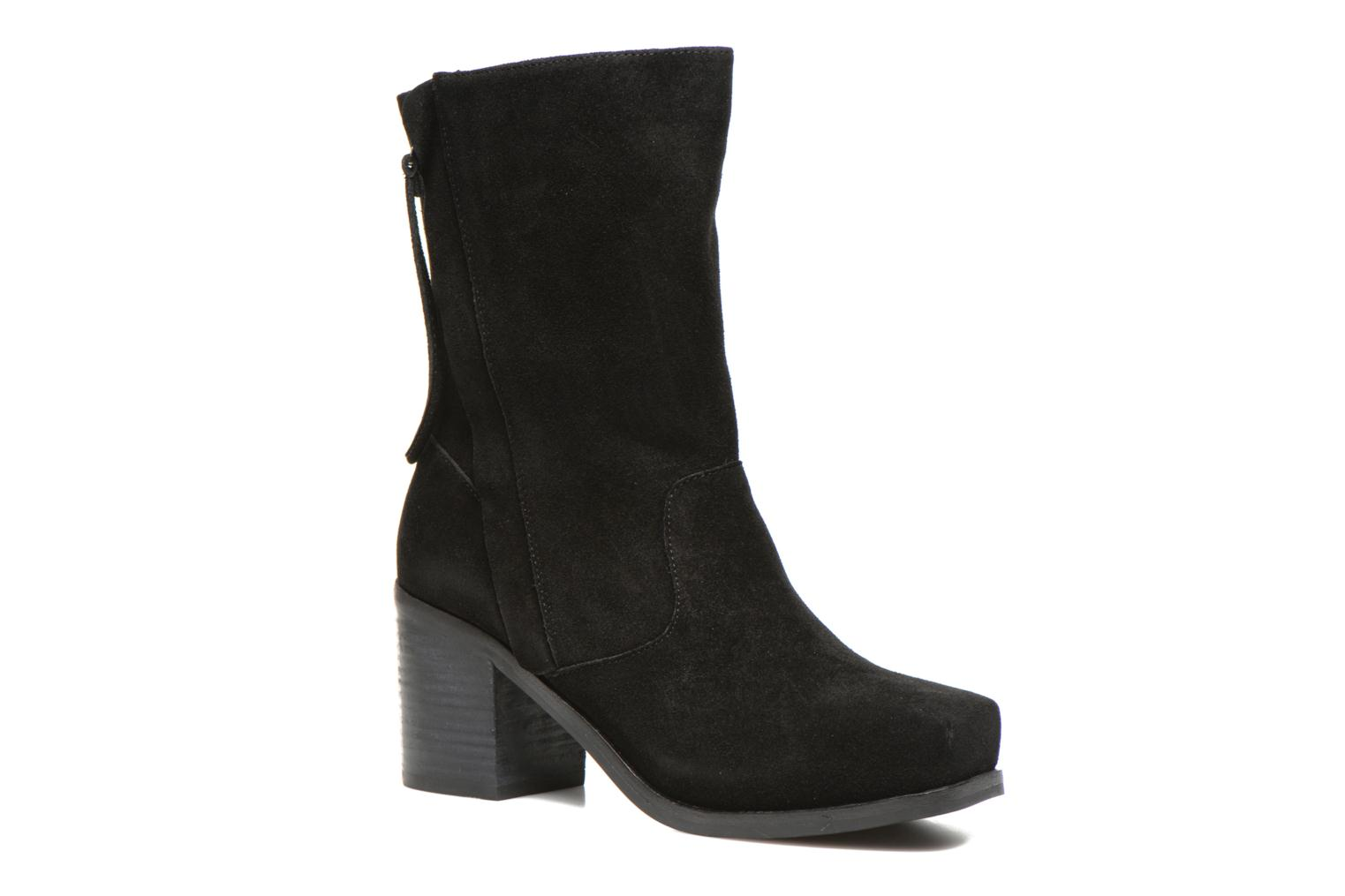 Marques Chaussure femme Intentionally blank femme Poncho Black Suede