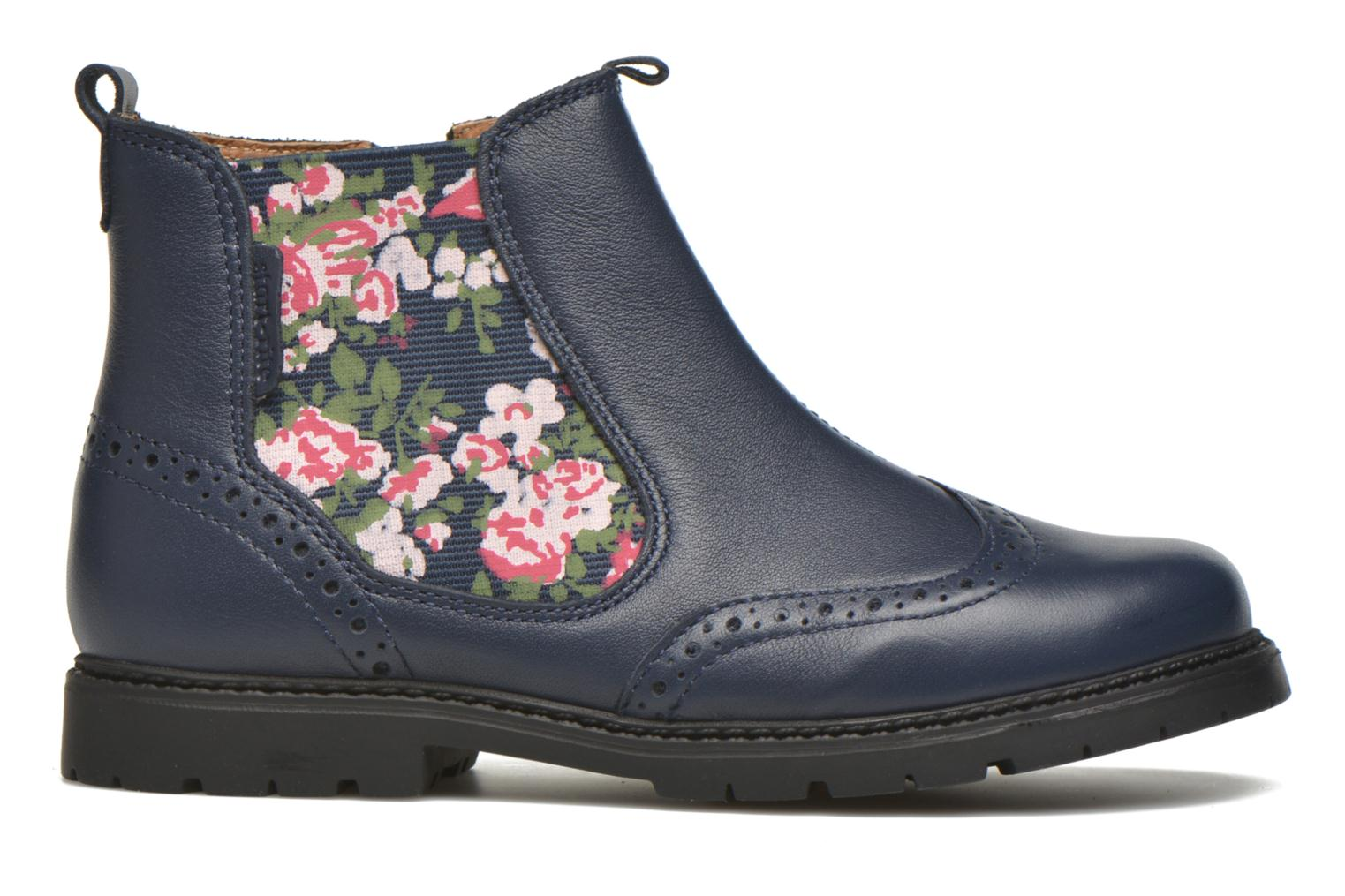 Chelsea Navy leather/Floral