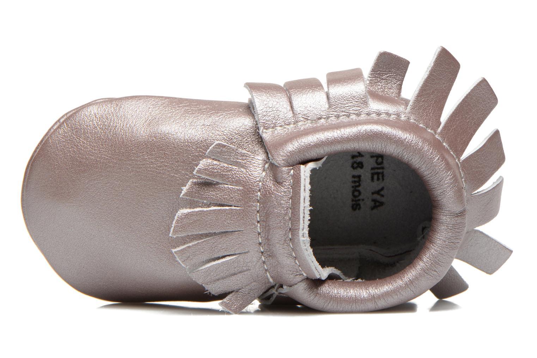 Pantoffels Hippie Ya Mocassins Pink Pearl Roze links