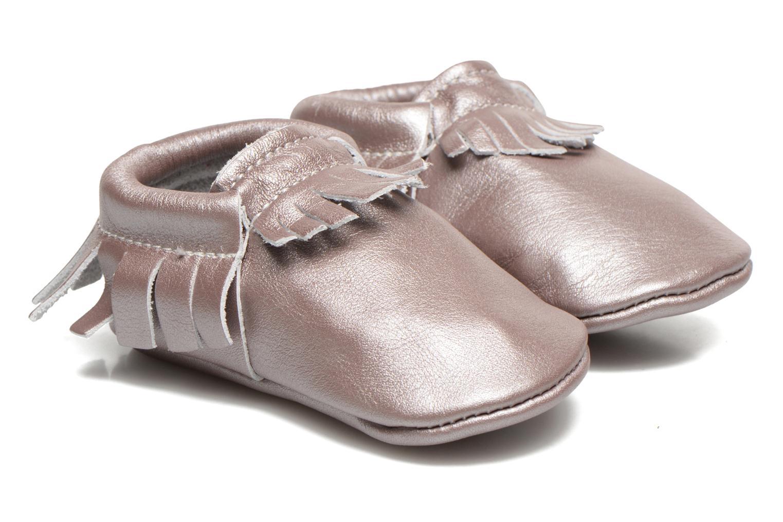 Pantoffels Hippie Ya Mocassins Pink Pearl Roze detail