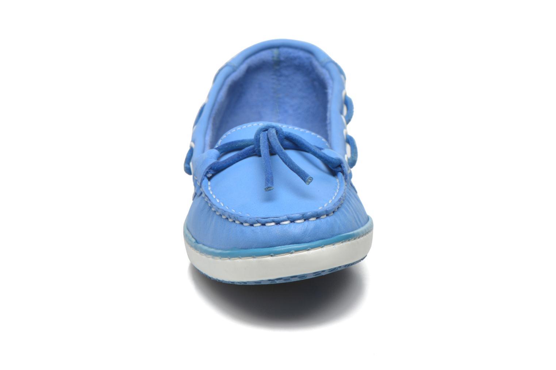 Slipper TBS Cadice blau schuhe getragen