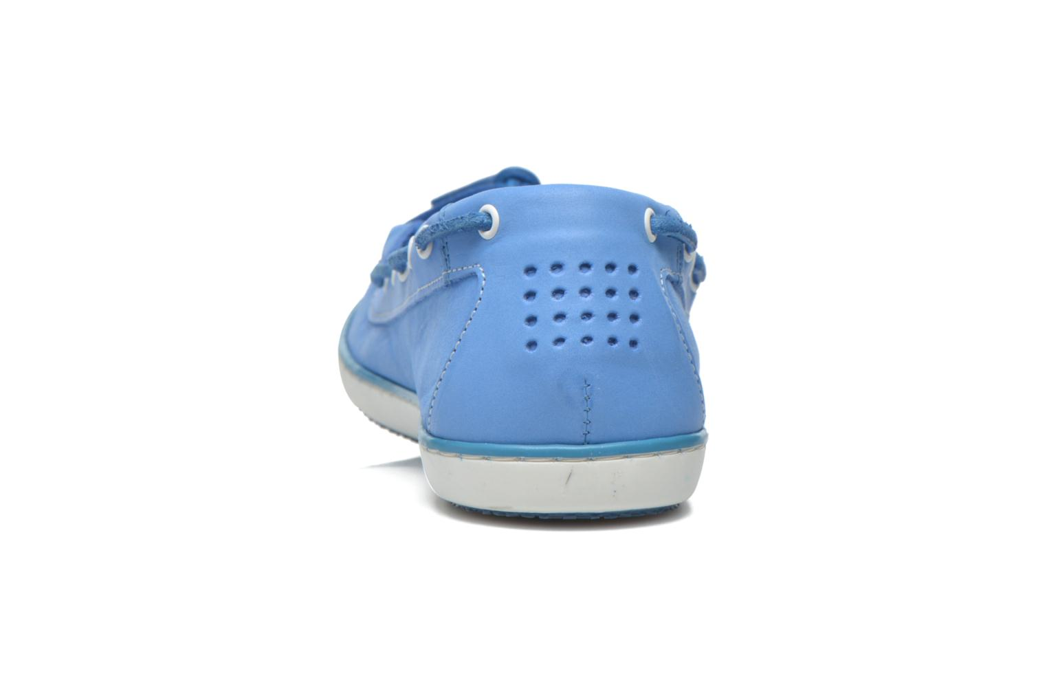 Loafers TBS Cadice Blue view from the right