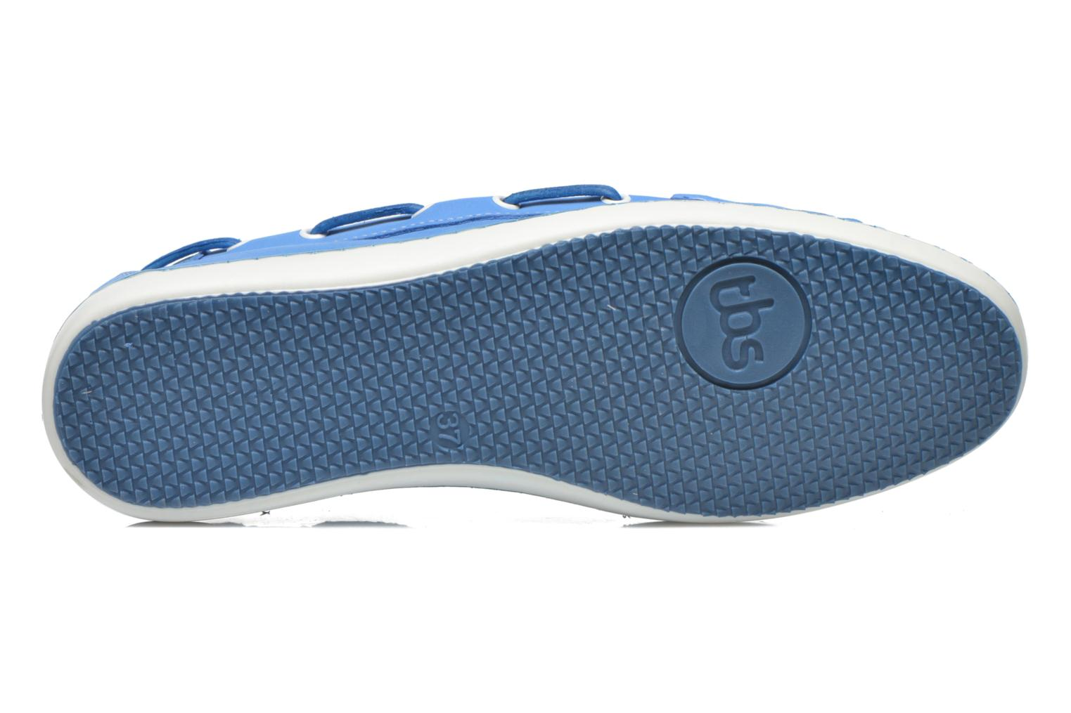 Loafers TBS Cadice Blue view from above