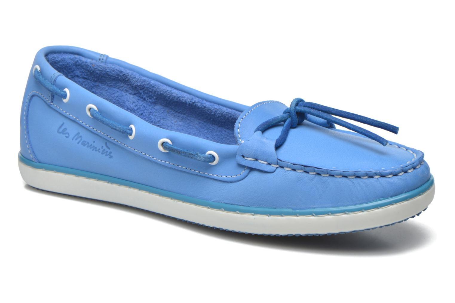 Loafers TBS Cadice Blue detailed view/ Pair view