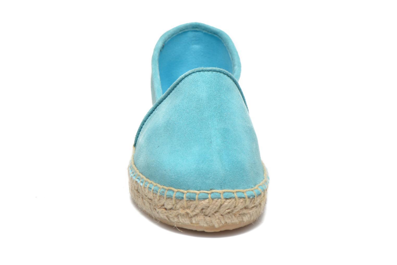Espadrilles Les Tropéziennes par M Belarbi Adriana Bleu vue portées chaussures