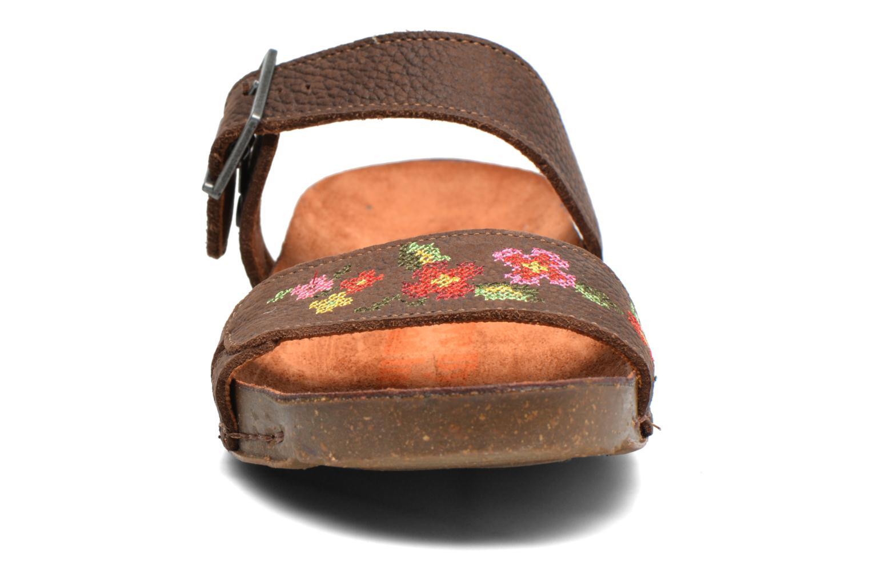 Mules et sabots Art I Breathe 978 Marron vue portées chaussures