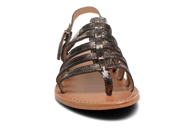 Sandalen Les Tropéziennes par M Belarbi Hercris schwarz schuhe getragen