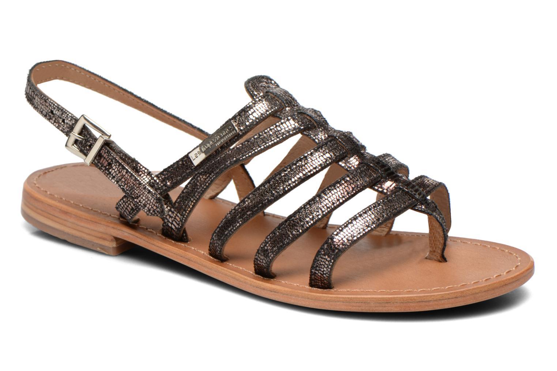 Sandaler Les Tropéziennes par M Belarbi Hercris Sort detaljeret billede af skoene