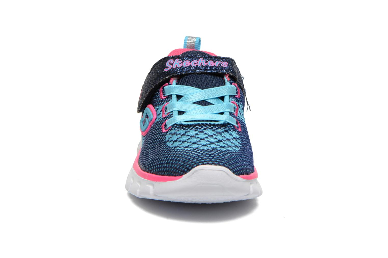 Trainers Skechers Synergy Lil Bubbly Blue model view