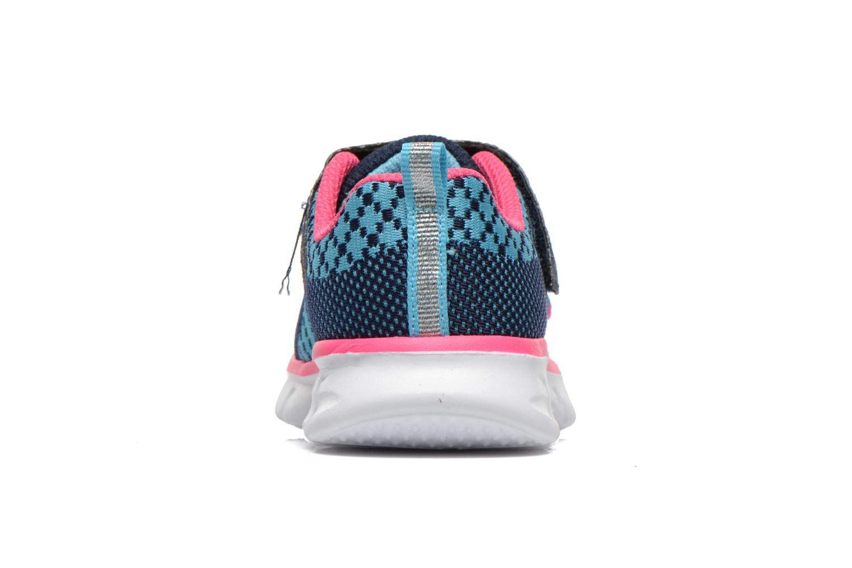 Sneakers Skechers Synergy Lil Bubbly Blå Se fra højre