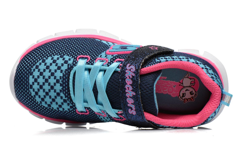 Sneakers Skechers Synergy Lil Bubbly Blå se fra venstre